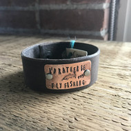 "RRH Cowgirl Relics ""I'd Rather Be Fishing"" Cuff"