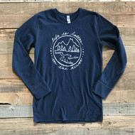 Life is Better on the River- Midnight Blue Thermal