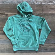 Life is Better On the River Hoodie-Mossy Green