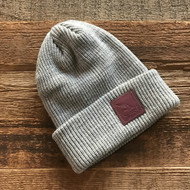 RRH Cuffed Beanie w/Leather Patch