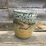 "Single Handmade ""Fly"" Trout Cups"