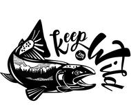 !!!NEW!!! Keep 'Em Wild 2.0 Sticker