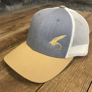 """Fly""  Golden Rod Trucker hat"