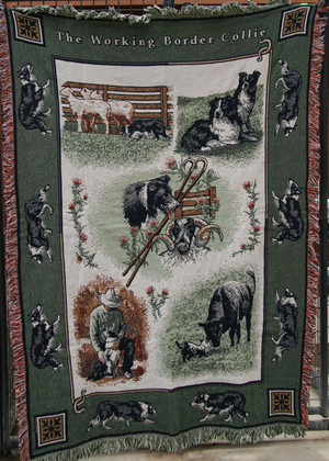 Border Collie Coverlet
