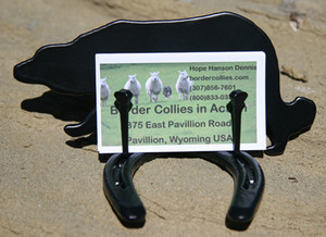Border Collies Card Holder