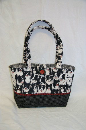 Border Collie Purse
