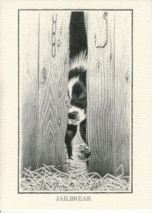Jailbreak Print by Ruth Deoudes