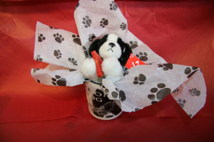 Beware of Dog Valentine Gift mug Set