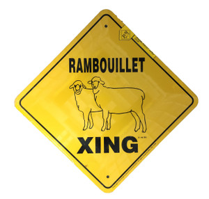 Rambouillet Xing Sign