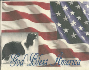 God Bless America -Tea Towel - New Design*