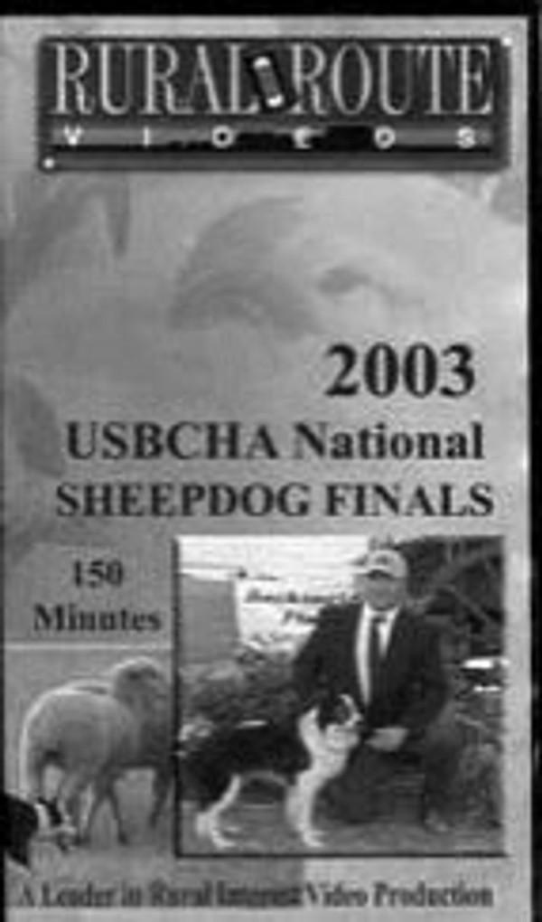 2003 USBCHA National Sheepdog Finals