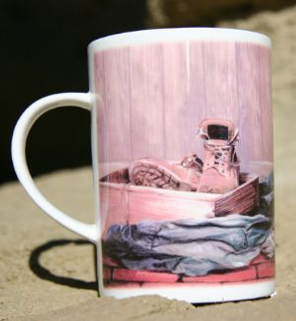 """Eager to Go"" Mug"