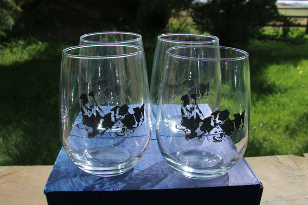 Set of 4 Drinking Glasses