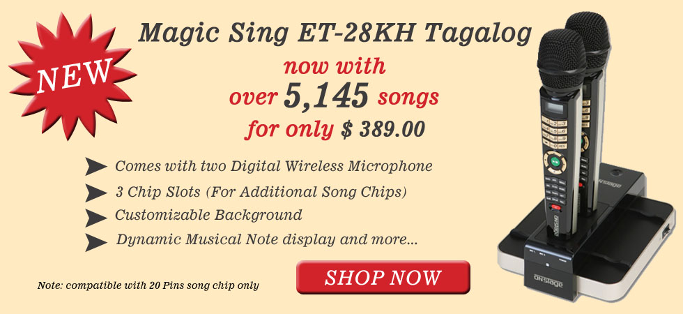 how to download songs to magic sing chip