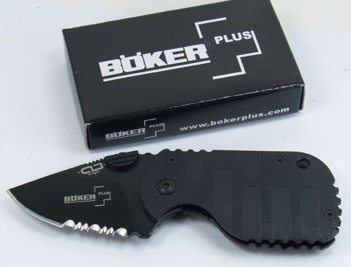 Boker Plus SUBCOM F Folding Pocket Knife AU 8 Steel