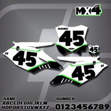 Kawasaki MX4 Number Plates