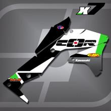 Kawasaki X7 Shrouds