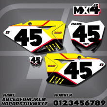 Suzuki MX4 Number Plates