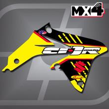 Suzuki MX4 Shrouds