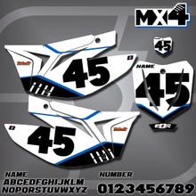 TM MX4 Number Plates