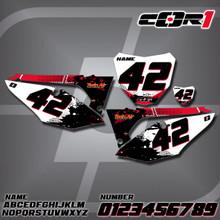 Honda Cor1 Number Plates
