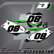 Kawasaki D1 Number Plates