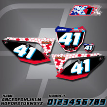 Honda K1 Number Plates