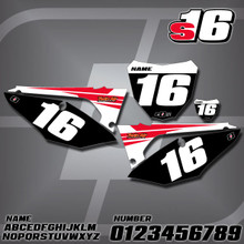 Honda S16 Number Plates