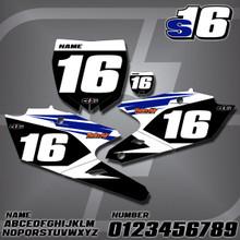 Yamaha S16 Number Plates