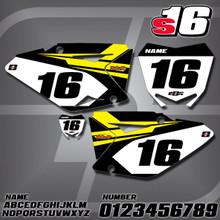 Suzuki S16 Number Plates
