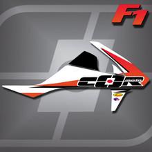KTM F1 Shrouds