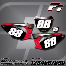 Honda F1 Number Plates