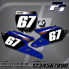 Yamaha F1 Number Plates