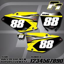 Suzuki F1 Number Plates