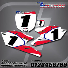Yamaha American Number Plates