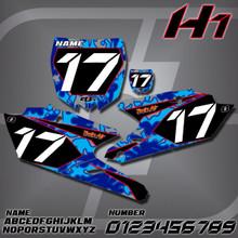 Yamaha H1 Number Plates