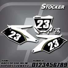 Kawasaki Stocker Number Plates