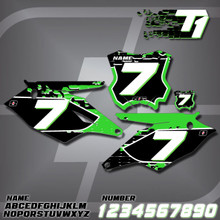 Kawasaki T1 Number Plates