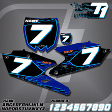 Yamaha T1 Number Plates