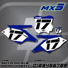Kawasaki MX3 Number Plates