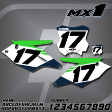 Kawasaki MX1 Number Plates