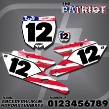 Yamaha Patriot Number Plates