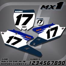 Yamaha MX1 Number Plates