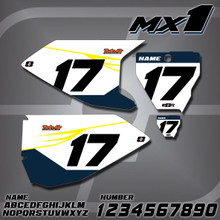 Husqvarna MX1 Number Plates