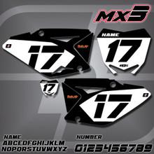 Suzuki MX3 Number Plates