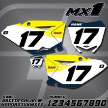 Suzuki MX1 Number Plates