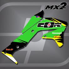 Kawasaki MX2 Shrouds