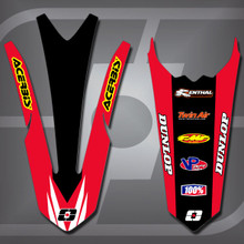 Honda MX1 Fender Set