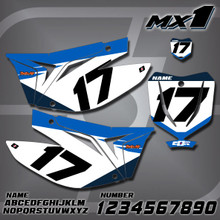 TM MX1 Number Plates