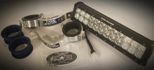 """12"""" KTM OEM Light Bar & Factory Baja Gore Fork Mount Kit"""